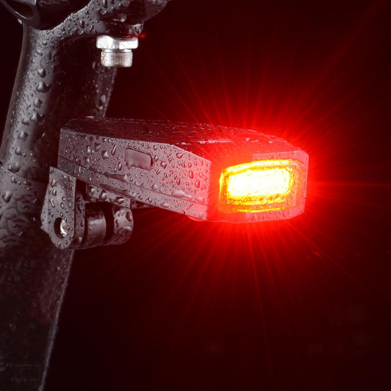 ROCKBROS Wireless Bike Alarm COB LED Bike 2