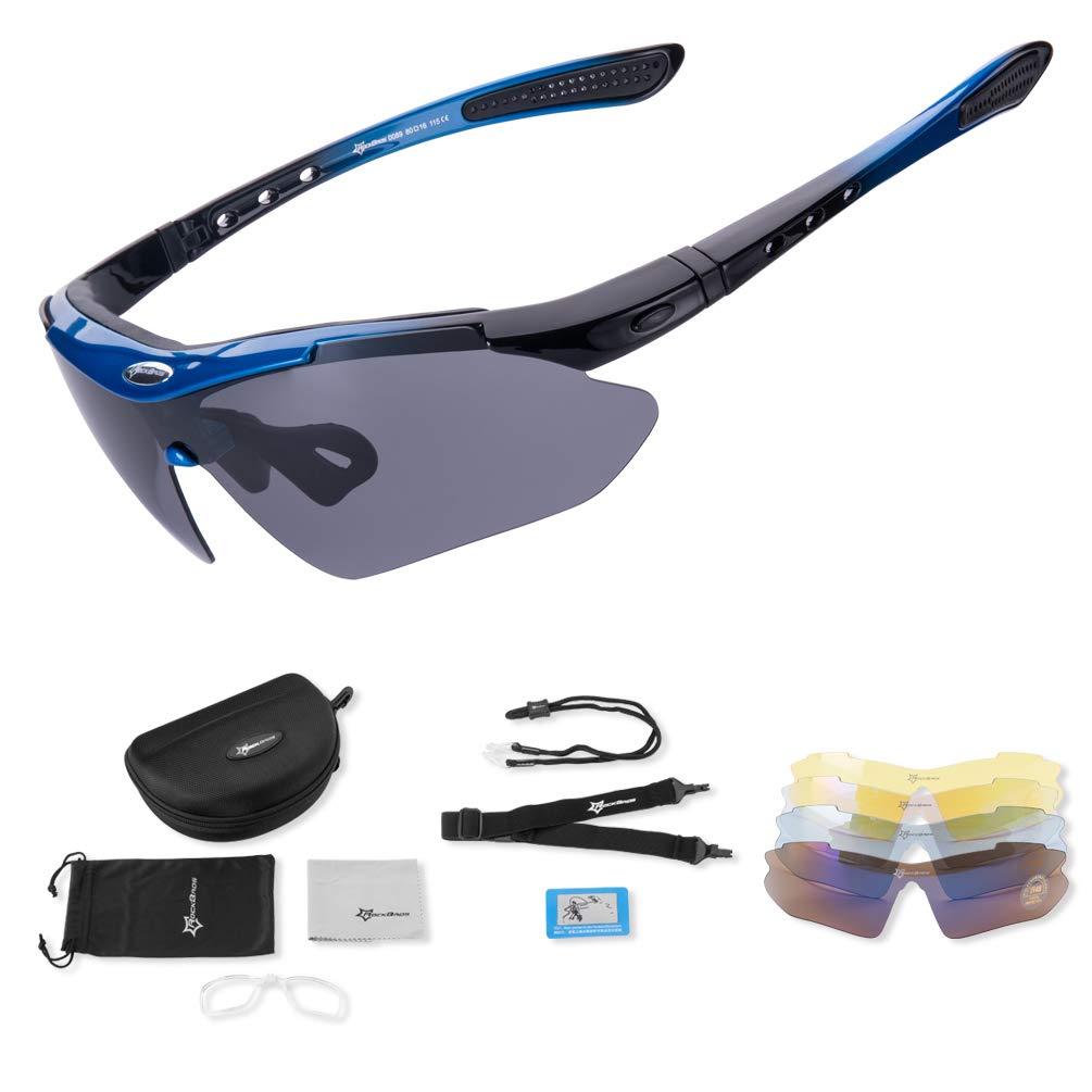 rockbros gafa azul