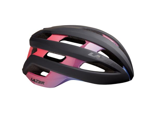 Casco lazer sphere MIPS morado rosado y negro