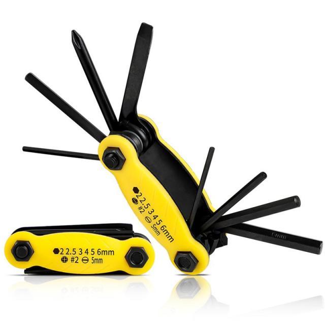 West Biking Juego de herramientas kit multifuncional 10 en 1 de reparaci n de bicicleta