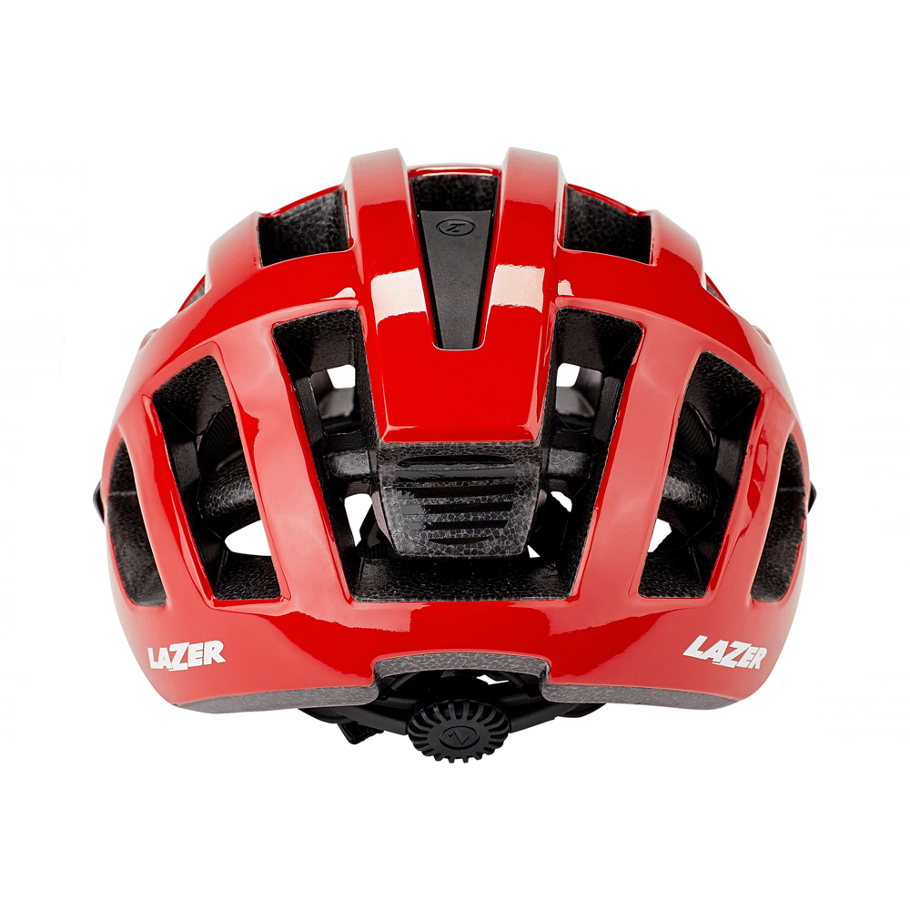 casco lazer compact rojo 6
