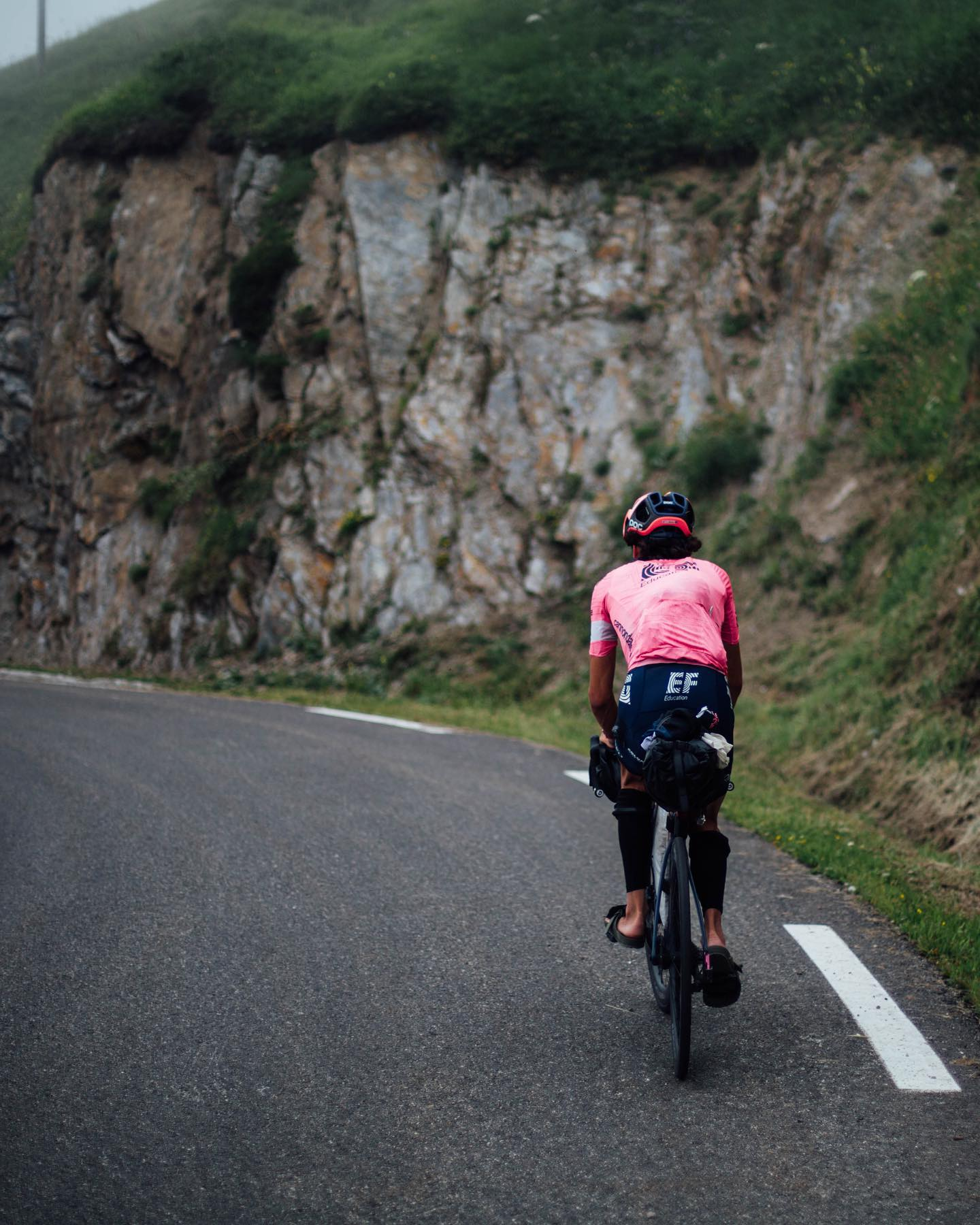 Lachlan Morton Teiko Bikes.